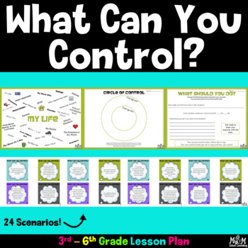 What Can You Control? Lesson (Grades 3-6)
