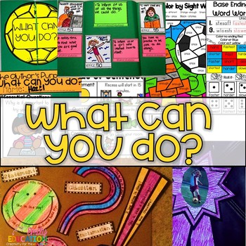 What Can You Do? Journeys 1st Grade Supplement Activities