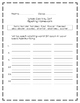 What Can You Do? Journeys® First Grade, Unit Six Spelling Homework