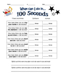 What Can You Do in 100 Seconds?