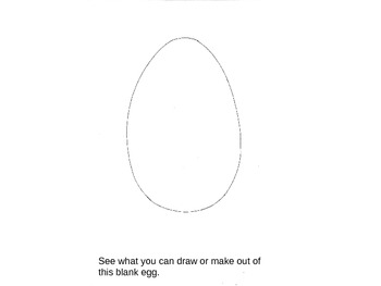 What Can You Draw With an Egg ?