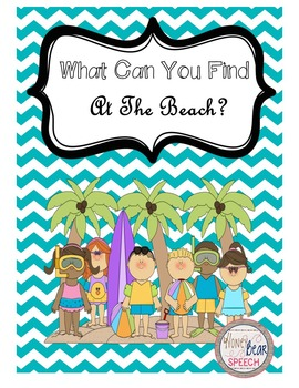 What Can You Find At The Beach?