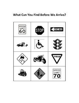 What Can You Find Before We Arrive?