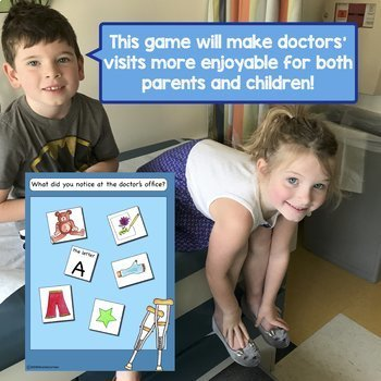 Make Doctors' Appointments more fun with What Can You Find? I Spy Game