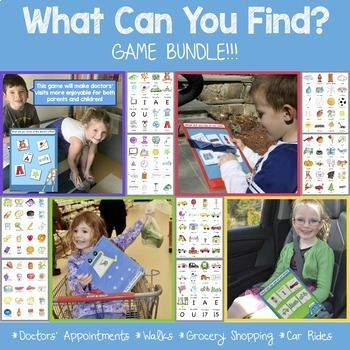 What Can You Find? Game BUNDLE