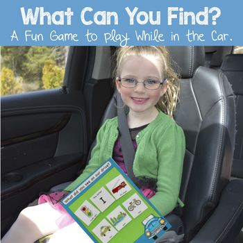 What Can You Find? Game - Driving