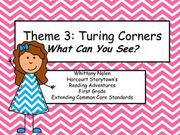 What Can You See? Storytown's Extending the CCRS: Reading Adventures Theme 3