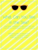 What Can You See in the Sea?