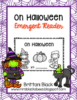 What Can You See on Halloween?  emergent reader