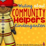 Writing About Community Helpers Kindergarten
