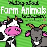 Writing About Farm Animals Kindergarten