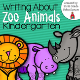 Writing About Zoo Animals Kindergarten