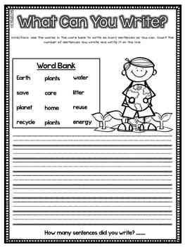 What Can You Write? SPRING Edition {Sentence Writing Practice}