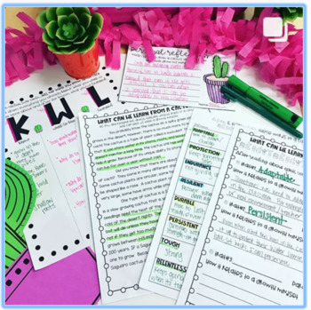 What Can you Learn From a Cactus? A Growth Mindset Close Read Activity