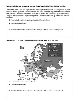 What Caused the Cold War?
