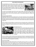 What Caused the Great Depression? - Reading Comprehension Worksheet / Text