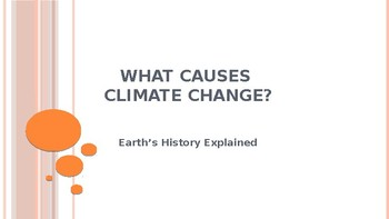 What Causes Climate Change? Explained - Geologic Past
