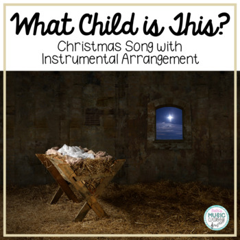 What Child Is This? Greensleeves - Christmas Carol with Orff