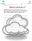 What Cloud Am I? Writting about clouds