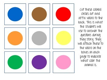What Color Are My Animals? Interactive Color Book!