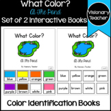 What Color? At The Pond - 2 Interactive Books of Color