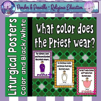 What Color Does the Priest Wear?