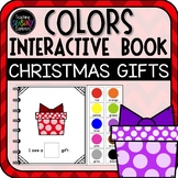 What Color Gift Can You See? Christmas Interactive book & Emergent Reader