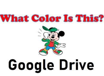 What Color Is This - Memory Game - Grade PreK - Google Drive