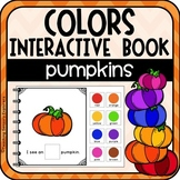 What Color Pumpkin Can You See? Interactive book & Emergent Reader