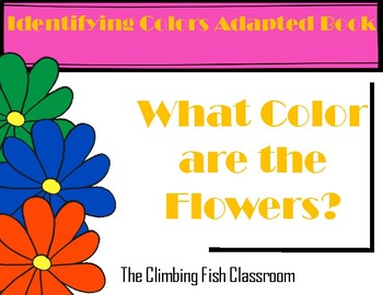 What Color are the Flowers? Adapted Book