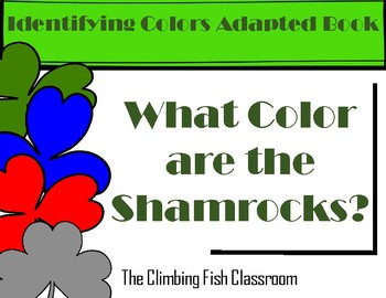 What Color are the Shamrocks? Adapted Book