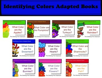 What Color is It? Seasonal Adapted Books Bundle
