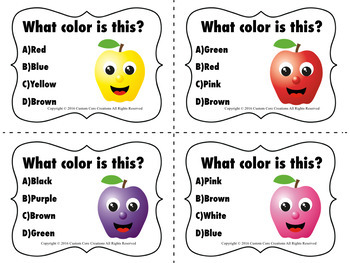 What Color is This Activity