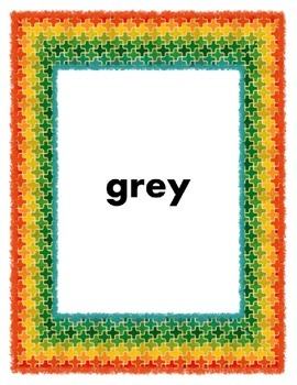 What Color is it? English to Spanish E-Reader and Printable ~ 11 Colors