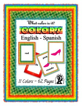 What Color is it? English to Spanish E-Reader and Printabl