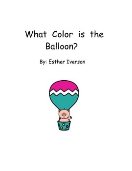 What Color is the Balloon adapted book
