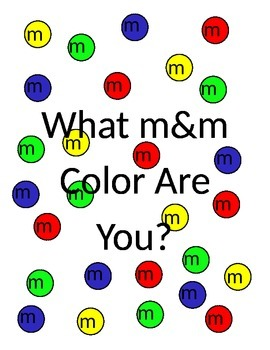 What Color m&m are You?