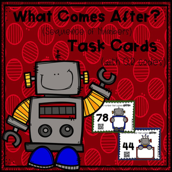 What Comes After? (Sequence of Numbers) Task Cards