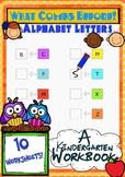 What Comes Before! Alphabet workbook for Kindergarten.