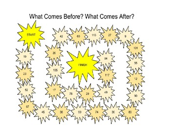 What Comes Before/What Comes After?