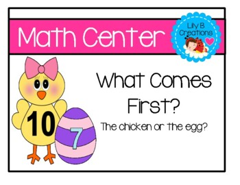 What Comes First? ~ The Chicken Or The Egg