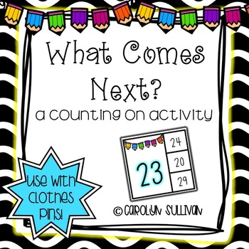 What Comes Next? A Counting on Activity