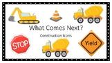 What Comes Next?  Construction Theme