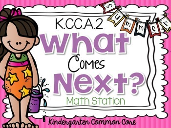 What Comes Next {Summer} Math Station