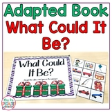 Christmas Adapted Guessing Game Book To Build Language (Autism & Speech)