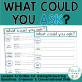 What Could You Ask? (Formulating On-Topic Questions) I Speech Therapy