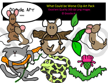 What Could be Worse? Clip Art Pack