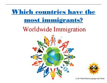 (Geography Basics) What Countries have the Most Immigrants - Reading Analysis