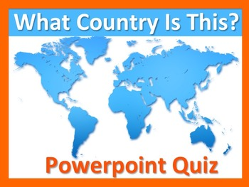 What Country is This? *Worksheets* AND *Slide Pack*