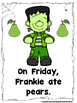 What Did Frankie Eat This Week?  (A Sight Word Reader and Teacher Lap Book)